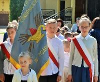 GMINA SANOK: Dzień patrona w szkole w Pisarowcach