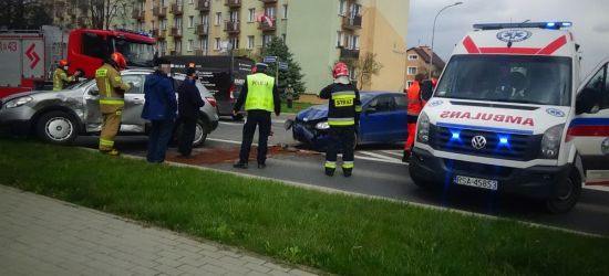 SANOK: Groźna kolizja na skrzyżowaniu (ZDJĘCIA)