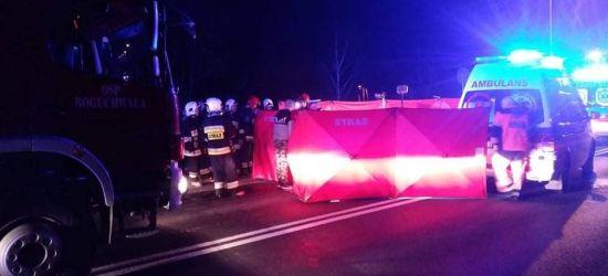 Tragiczny wypadek na trasie do Rzeszowa. Zginął pieszy, sprawca uciekł (FOTO)