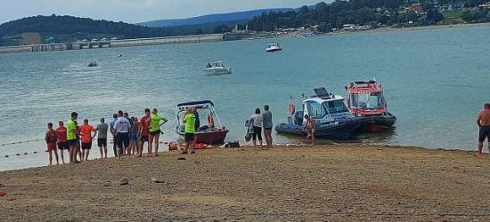 W Jeziorze Solińskim utonął człowiek? Trwają poszukiwania (ZDJĘCIA)
