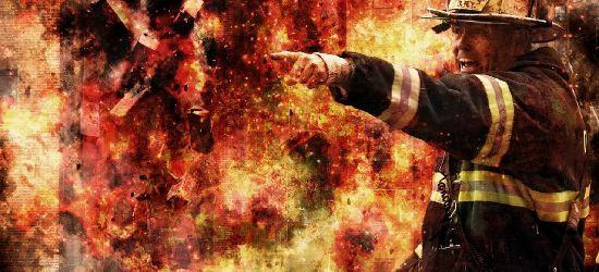 PODKARPACIE: Tragiczny pożar. Mężczyzna zginął w płomieniach w sylwestrową noc