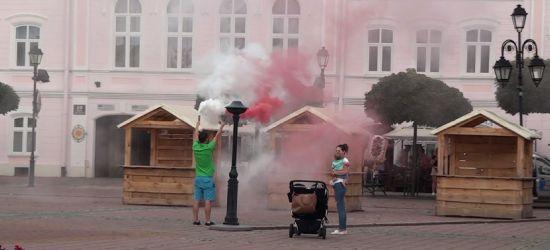 Rocznica wybuchu Powstania Warszawskiego. W Sanoku zawyły syreny (VIDEO)
