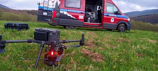 GOPR BIESZCZADY. Ratownicy odbyli szkolenie z obsługi dronów! FOTO