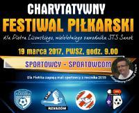 NIEDZIELA: Sport i atrakcyjne licytacje. Akademia Piłkarska Sanok dla Piotra Lisowskiego