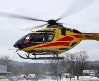Akcja ratunkowa z udziałem LPR. Helikopter zabiera 8-latkę do szpitala w Rzeszowie (FILM)