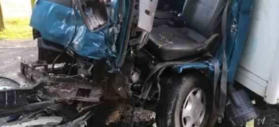PODKARPACIE: Zginął kierowca ciężarówki (FOTO)