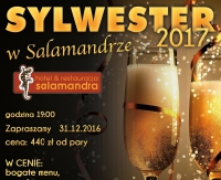 Wystrzałowy sylwester 2016/2017 w Hotelu Salamandra
