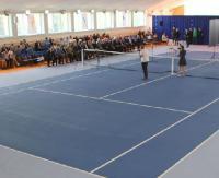 Gmina Zagórz ma profesjonalny kort tenisowy! Czekamy na następców Janowicza i Radwańskiej (FILM, ZDJĘCIA)