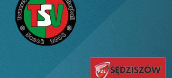 KONIEC TRANSMISJI VIDEO NA ŻYWO: TSV Mansard TransGaz-Travel Sanok – PZL Sędziszów Młp.