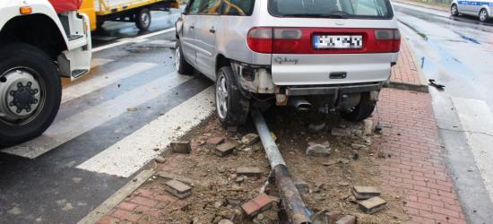 AKTUALIZACJA: Niebezpieczny wypadek na Błoniach (ZDJĘCIA)