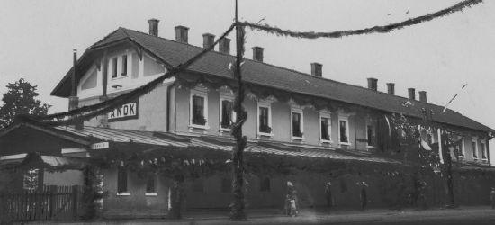 STARE FOTOGRAFIE / SANOK: Udekorowany dworzec, powódź, wojsko (ZOBACZ)