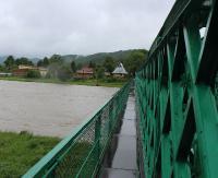 SANOK: Chciał się zabić rzucając się z mostu przy ul. Białogórskiej (ZDJĘCIA)