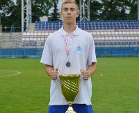 Wychowanek Orła Bażanówka młodzieżowym wicemistrzem Polski w piłce nożnej