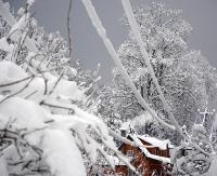Po obfitych opadach śniegu, najtrudniejsza sytuacja w Bieszczadach! (ZDJĘCIA)