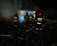 Pożar w Falejówce. Spłonęła stodoła (ZDJĘCIA)