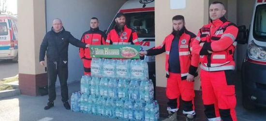 Bar Kebab Sanok dla ratowników pogotowia