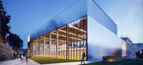 Powiat chce wybudować salę gimnastyczną dla II LO. Zobaczcie WIZUALIZACJĘ (ZDJĘCIA)