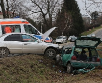 Wypadek na trasie Sanok-Zagórz (ZDJĘCIA)