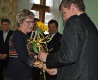 SANOK: Starosta nagrodził dyrektorów i nauczycieli za ubiegły rok szkolny (ZDJĘCIA)