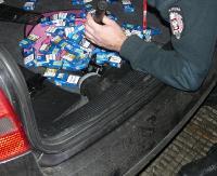 Nocne wpadki przemytników na granicy (ZDJĘCIA)