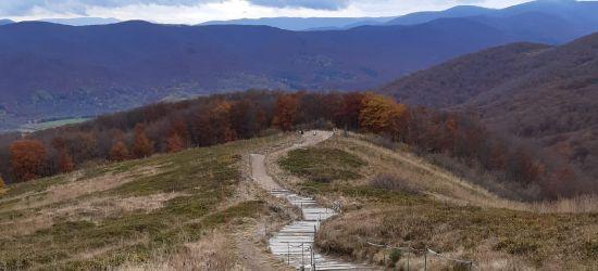 """BIESZCZADY: Remont """"schodów"""" na Tarnicę (ZDJĘCIA)"""