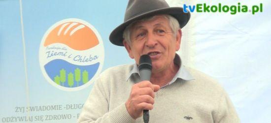 Robert Wagner o zdrowej żywności podczas ekologicznej majówki w Niebieszczanach (FILM, ZDJĘCIA)