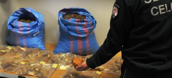 W podłodze samochodu schowali 70 kg bursztynu wartego ponad 140 tys. zł! (ZDJĘCIA)