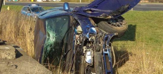 REGION: Groźne zdarzenie z udziałem nietrzeźwego kierowcy (ZDJĘCIA)