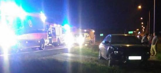 Zderzenie osobówki i samochodu ciężarowego (FOTO)