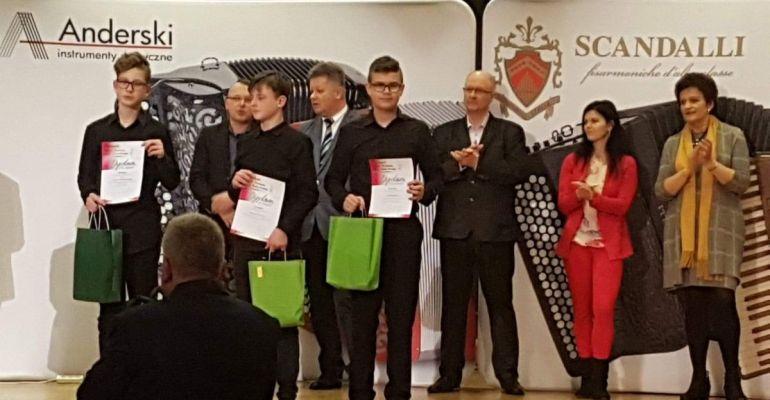 Młodzi akordeoniści z sukcesami w Kielcach (FOTO)