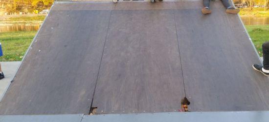 INTERWENCJA: Niebezpiecznie w skateparku. Czytelnicy sygnalizują uszkodzenia rampy (FOTO)