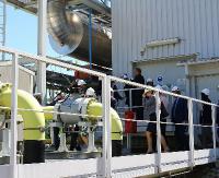 GMINA SANOK: Przewiert dla gazociągu pod korytem Sanu to sukces. Sieć ma znaczenie strategiczne dla regionu