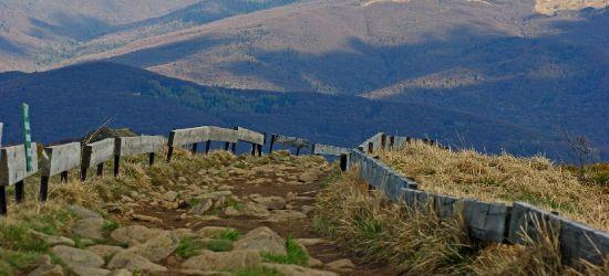 Ludzkie szczątki znalezione przy szlaku na Połoninę Wetlińską