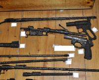 ZAGÓRZ: Miał cały arsenał! Za brak pozwoleń na broń grozi mu nawet 8 lat więzienia (ZDJĘCIA)