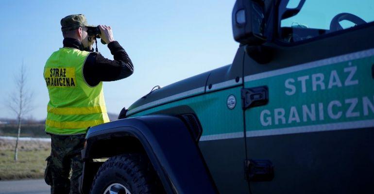 Pogranicznicy zatrzymali poszukiwanych czerwoną notą Interpolu
