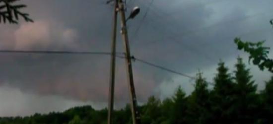 DZISIAJ: Silne burze na Podkarpaciu. Wiatr nawet do 90 km/h