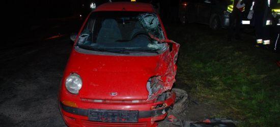 Pijany kierowca doprowadził do czołówki. Miał 1,5 promila (ZDJĘCIA)
