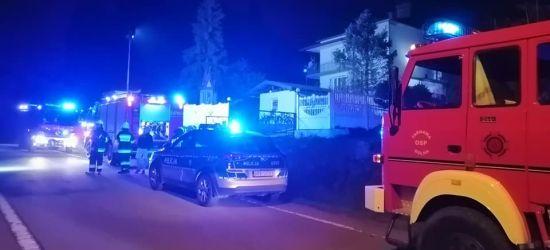 CZASZYN. Pożar w zamieszkałym budynku. Zagrożenie szybko opanowano (ZDJĘCIA)