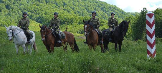 Nowi jeźdźcy w Bieszczadzkim Oddziale Straży Granicznej (FOTO)
