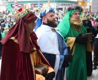 Sanoczanie tłumnie uczcili święto Objawienia Pańskiego! Barwny Orszak Trzech Króli przeszedł ulicami miasta (ZDJĘCIA)