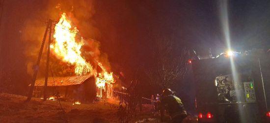 Ogień zabrał siedmioosobowej rodzinie dorobek całego życia! (VIDEO, FOTO)
