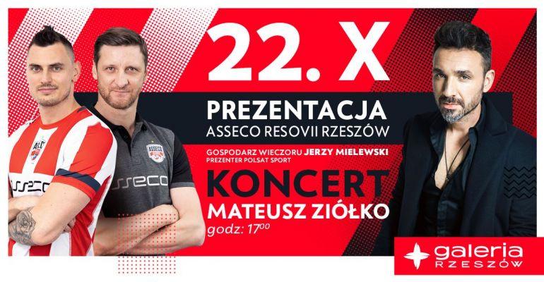 Zapraszamy na prezentację nowej drużynyAsseco Resovia Rzeszów!