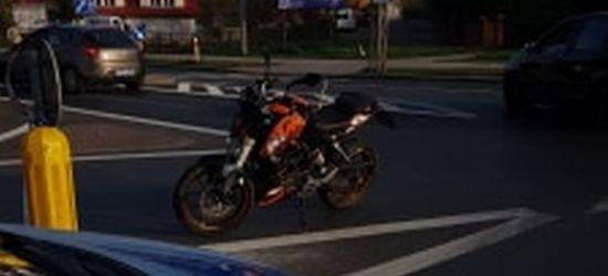 SANOK: Kierujący osobówką nie ustąpił pierwszeństwa motocyklistce