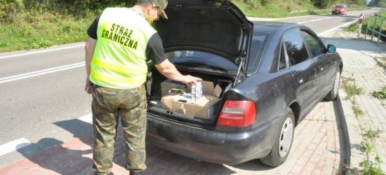Papierosy z przemytu o wartości 87 tys. złotych zatrzymane na podkarpackich drogach
