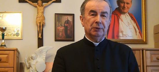 Świąteczne życzenia składa ks. prałat Andrzej Skiba (FILM)