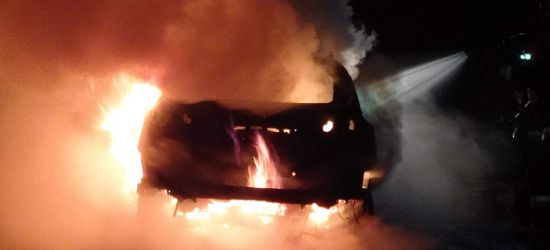 PODKARPACIE. Ogromny pożar samochodu! Było niebezpiecznie (ZDJĘCIA)
