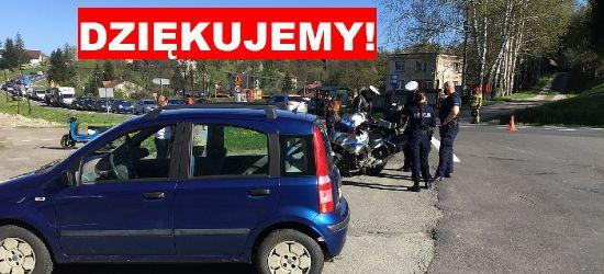 Wypadek w Zahutyniu. Rodzina poszkodowanego dziękuje świadkom wypadku