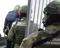 Na granicy zatrzymano poszukiwanego listem gończym, który posiadał przy sobie ostrą amunicję (ZDJĘCIA)