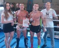 KICKBOXING: Mamy mistrza Polski seniorów! Kamil Rościński najlepszy! (2 x FILM, ZDJĘCIE)