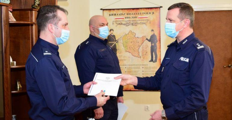 Nowy komendant policji w Lesku. Został nim podinspektor Grzegorz Koczera (ZDJĘCIA)